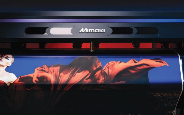 New clear ink enhances versatility for Mimaki's award-winning UCJV300 series Clear ink added to the GREENGUARD Gold certified LUS-170 UV-LED curable inks